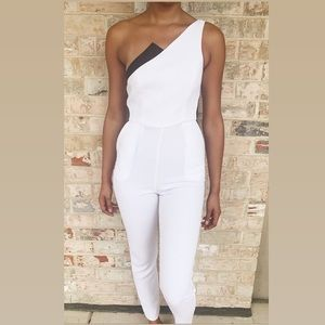 Elegant White Jumper Suit